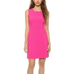 Diane Von Furstenberg Carrie Hot Pink Dress 8